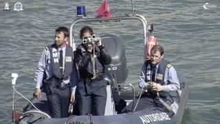 Aula pratica do Curso de Especialização de Oficiais em Navegação