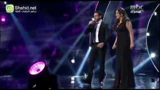 Arab Idol -الأداء - فرح يوسف و زياد خوري