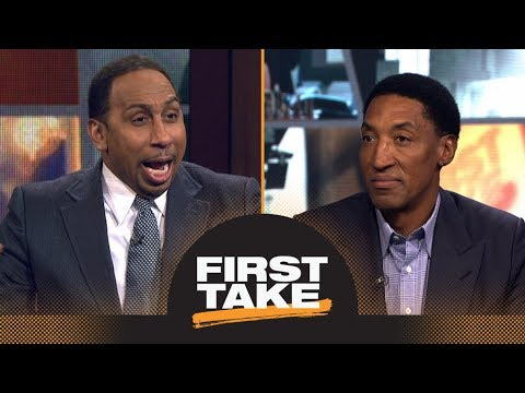 Download Scottie Pippen says LeBron James has surpassed Michael Jordan 'in many ways' | First Take | ESPN HD Mp4 3GP Video and MP3