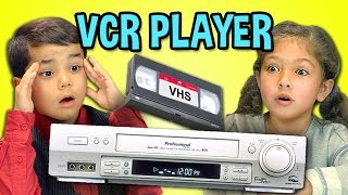 Video KIDS REACT TO VCR/VHS MP3, 3GP, MP4, WEBM, AVI, FLV Juli 2018