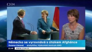 Německo se vyrovnává s útokem Afghánce