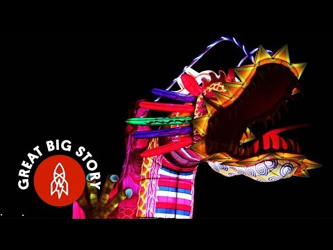 CNN에 소개된 진주남강유등축제!_한국드론박물관