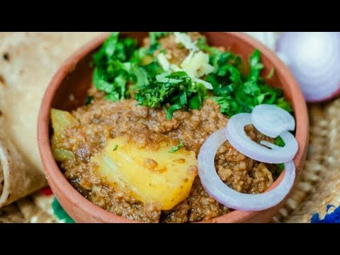 Aloo Keema Dhaba Style Recipe Mince With Potato Curry