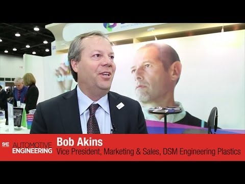 DSM Engineering Plastics interview at SAE 2014 World Congress