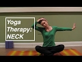Yoga Therapy: Neck Pain - Cervical Spine alignment: LauraGYOGA
