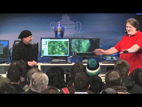 """Intel's Vice President Pops The """"Counter Strike 2"""" Question to Gabe Newell"""
