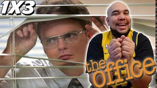 The Office 1x3 REACTION | Health Care | Episode 3 Reaction