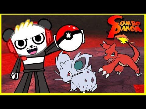 Roblox Pokemon Floor is Lava Level Let's Play with Combo Panda (видео)
