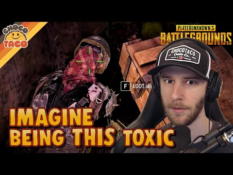 Imagine Actually Being This Toxic ft. Swagger - chocoTaco PUBG Duos Gameplay