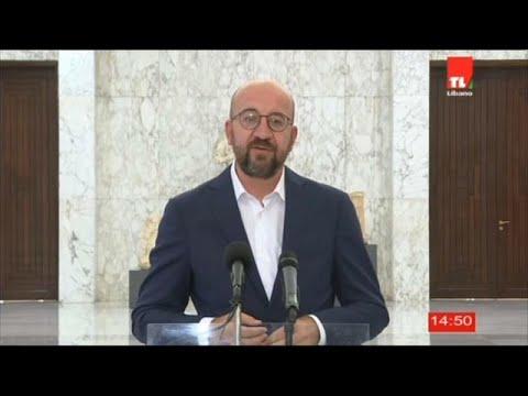Οργή στον Λίβανο – Μήνυμα αλληλεγγύης από την ΕΕ μετέφερε ο Σαρλ Μισέλ…