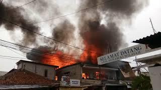 Kebakaran di rajawali selatan 1 Jakarta pusat