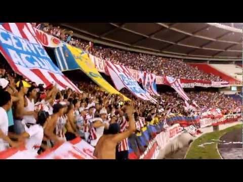 Recibimiento - Frente Rojiblanco Sur 2012 - Junior 1 / Nacional 0 - Nacieron Hijos Nuestros !!! - Frente Rojiblanco Sur - Junior de Barranquilla