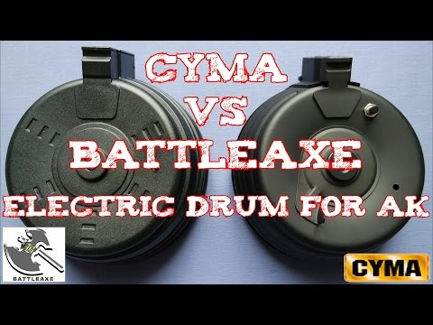 Video (Review) CYMA vs BATTLEAXE Electric Drum for AK download in MP3, 3GP, MP4, WEBM, AVI, FLV January 2017