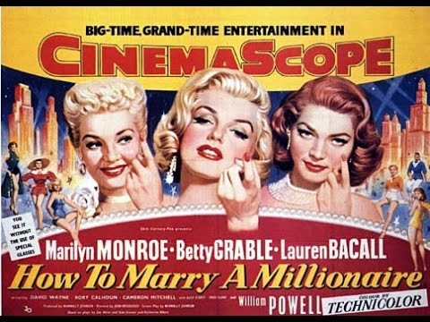 "Betty Grable - ""How To Marry A Millionaire"" - Movie In A Nutshell! - By Missy Cat"