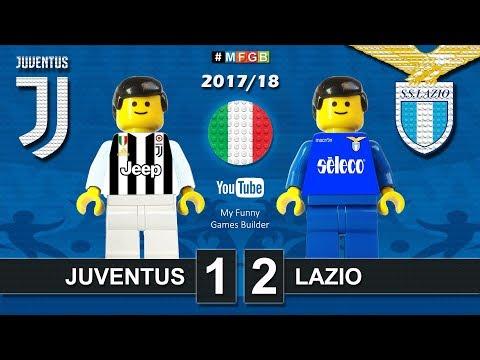 juventus - lazio 1-2 giocata con i lego divertentissimo