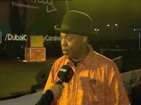 Amazing Funny Police Academy Actor & Comedian Michael Winslow 'The man of 10,000 sounds' in Dubai