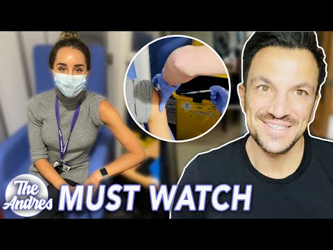 THE ANDRES: EMILY GETS COVID VACCINE (MUST WATCH)