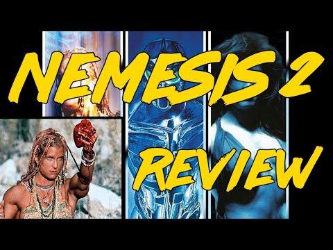 First Watch: Nemesis 2 Review/Reaction (Super Low Budget '90s Experimental Cyberpunk) [4k]