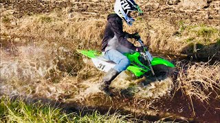 8. Almost Sunk my 2019 KLX 110L