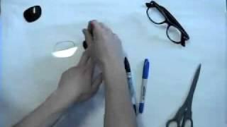 كيفية صناعة نظارات ثلاثية الأبعاد