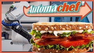 AUTOMACHEF Gameplay • BLT Sandwich   Küchen Automatisierung Simulator #2