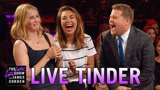 Video Late Late Live Tinder w/ Chelsea Handler MP3, 3GP, MP4, WEBM, AVI, FLV Oktober 2018