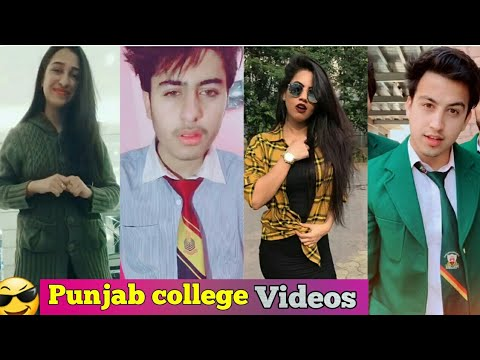 😎 Punjab college Boys girls 👨👩 musically Tiktok Videos 2019 Episode 2 - HD center