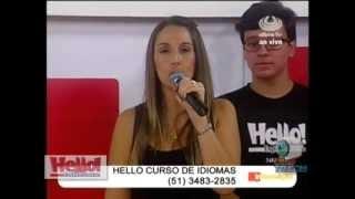 Hello na UlbraTV com Cristina Mazzei e Carlos Soares