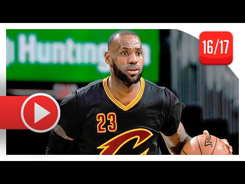 LeBron James Full Highlights vs Pacers (2017.02.15) - 31 Pts, 5 Reb