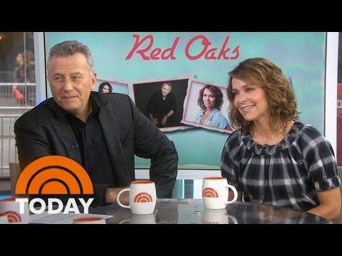 Jennifer Grey, Paul Reiser Talk 'Red Oaks,' Grey's Girl-Crush On Tamron Hall | TODAY