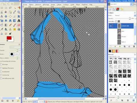Comment colorier un manga avec gimp la r ponse est sur - Comment colorier un manga ...