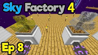 Even.. More... Trees... | Minecraft Modpack: Sky Factory 4 | Ep. 8