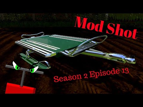 Sled Trailer for ATV's & Snowmobiles v1