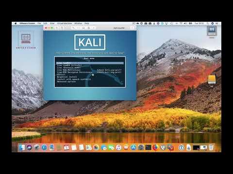 Kali linux Wmware Fusion Install