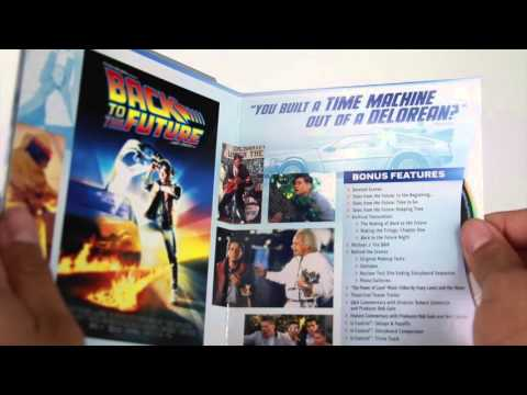 Back To The Future Trilogy 30th Anniversary (blu Ray)