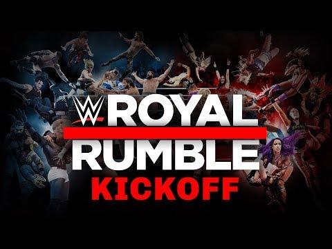 Royal Rumble Kickoff: January 27, 2019