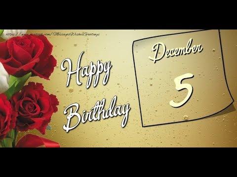 Happy birthday quotes - 5 December New Happy Birthday Status Video  Happy birthday STATUS