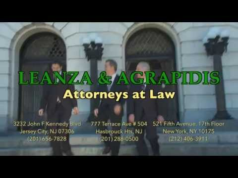 Leanza And Agrapidis | Personal Injury Lawyers - Jersey City, Hasbrouck Heights