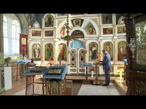 Игорь Додон посетил монастырь близ села Цигэнешть Страшенского района