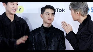 """SUHO """"If I give you the key words.. SWING KIDS!""""  [Close Up CamㅣSBS Gayodaejeon]"""