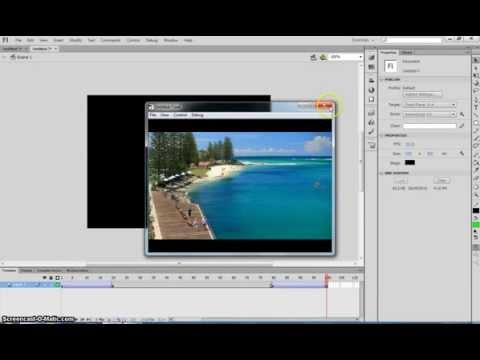Make a Fade Effect in Adobe Flash