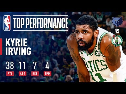Video: Kyrie Irving SHINES Against Grizzlies   January 18, 2019