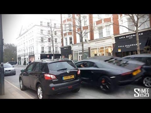 Londra: Guidatore incauto rovina la Lamborghini