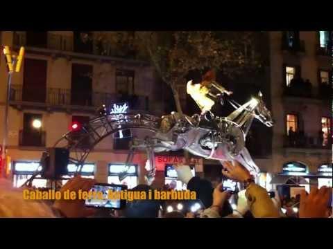 Caballo con mecanismos de movimiento, por Jordà Ferré y Óscar de Paz.