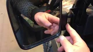 8. 2018 Polaris Ranger XP1000 folding mirrors from