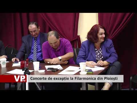 Concerte de excepție la Filarmonica din Ploiești