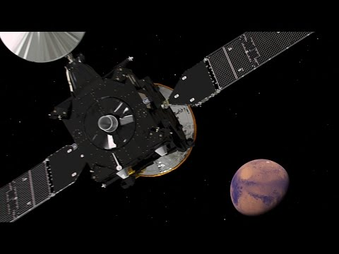ExoMars Trace Gas Orbiter's Journey to Mars (video)