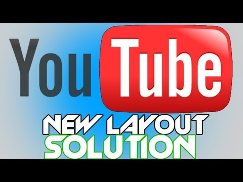itzlupo - As you may know by now, YouTube Updates its Layout the other day. I am not fond of this layout especially the left alignment. The New Layout looks to much li...