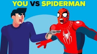 Video YOU vs Spider-Man - How Could You Defeat Him? MP3, 3GP, MP4, WEBM, AVI, FLV Desember 2018