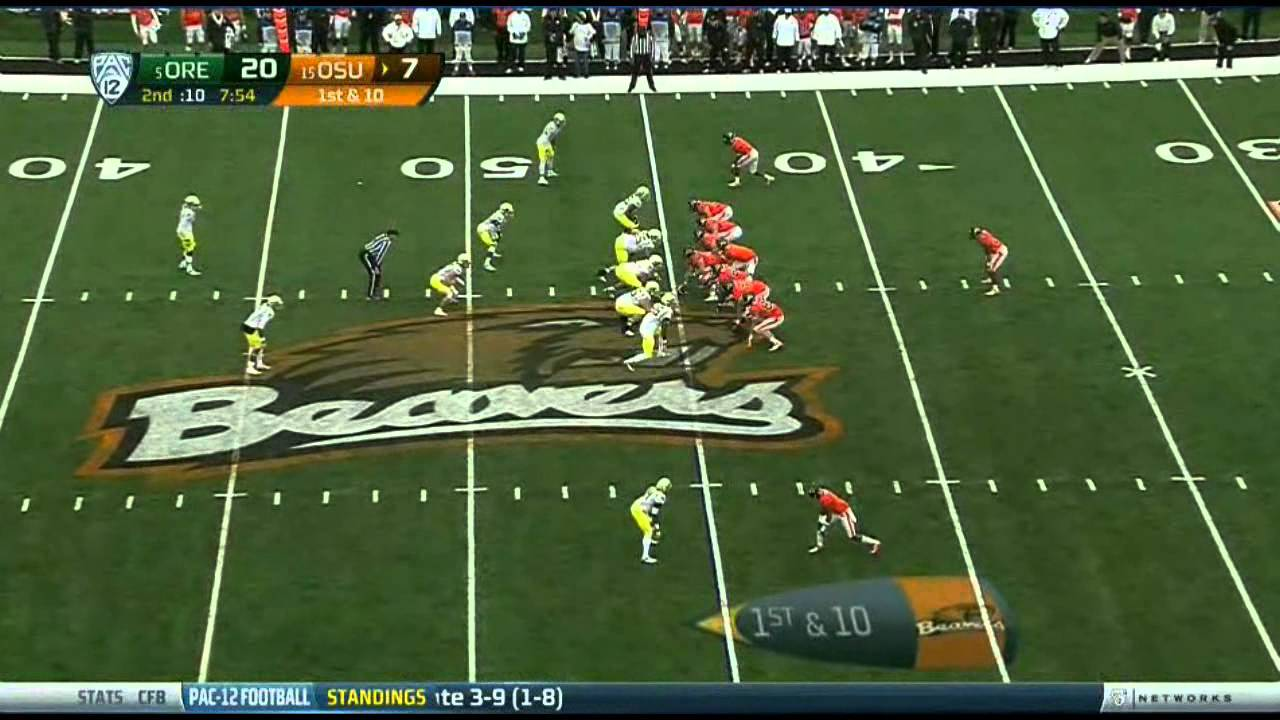 Kiko Alonso vs Oregon State (2012)